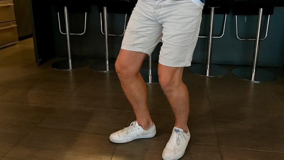 shorts på jobb
